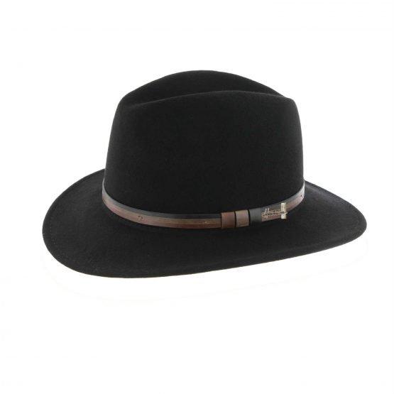 plooibare hoed in wol Herman
