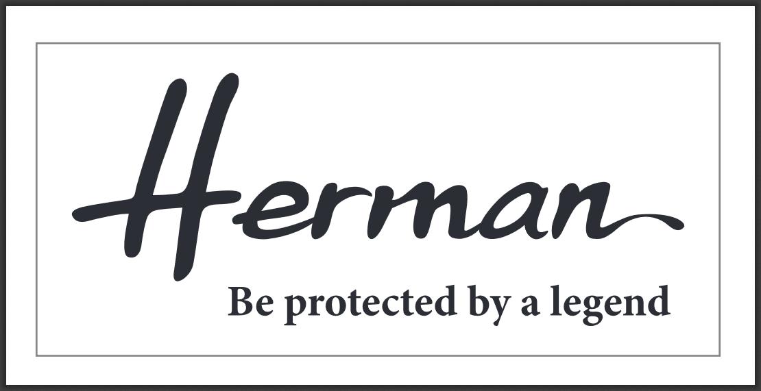 herman headwear logo on harborofmen