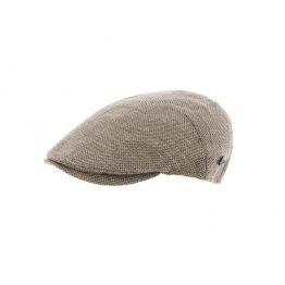 cotton ivy cap Herman H. beige side rigt shot