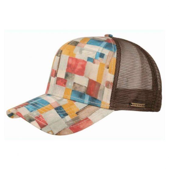 trucker cap painted look by stetson on harbor of men