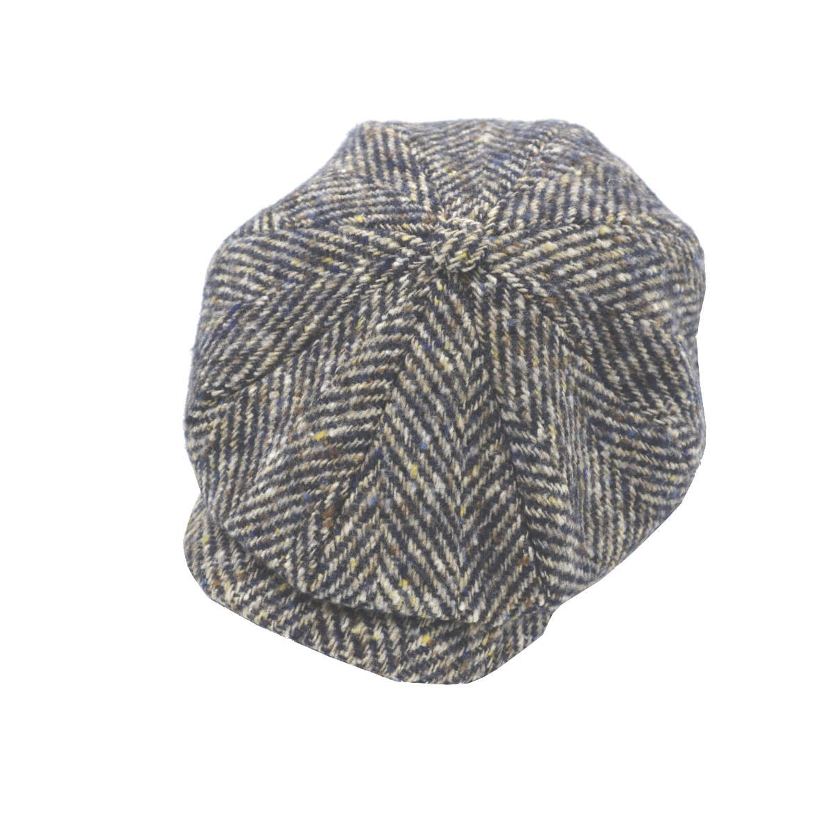 Donegal newspaperboy cap stetson side top shot