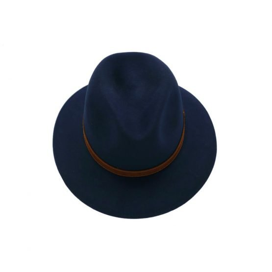 brede hhoed met brede rand in konijnvilt top shot oed konijnvilt hoed Borsalino top shot