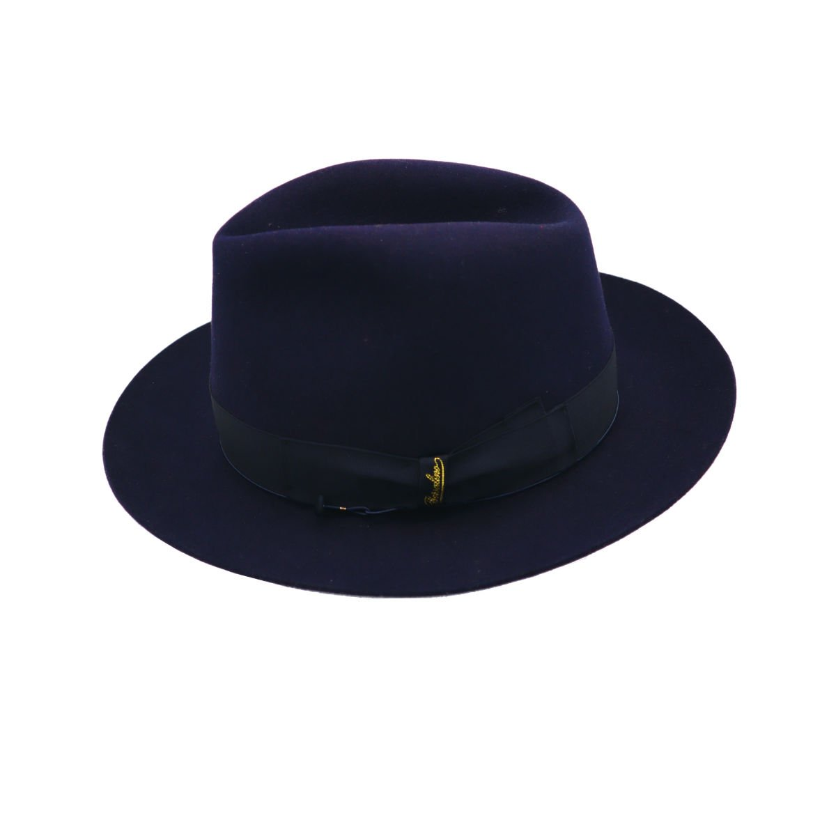 Bogaert hoed nightblue Borsalino side shot