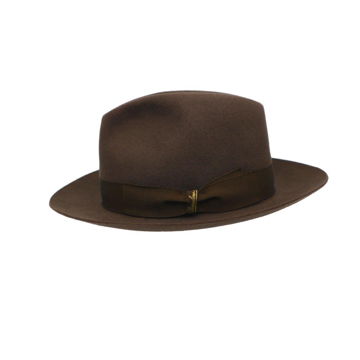 hoed in haarvilt van Borsalino