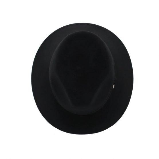 hoed in haarvilt panizza midnightblack front shot
