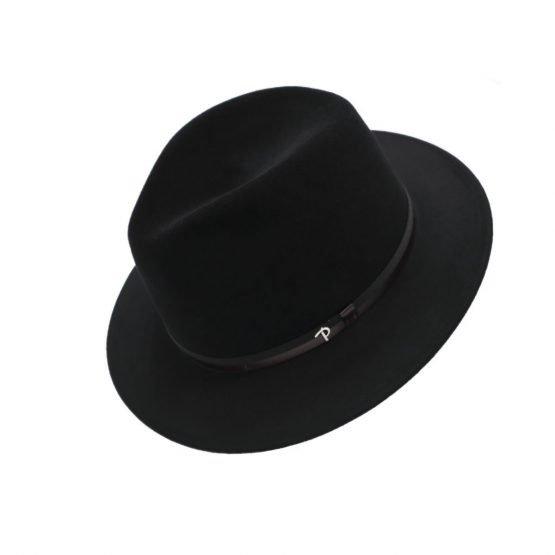 hoed in haarvilt panizza midnightblack