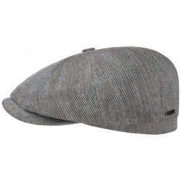 """The gatsby"" linen newspaperboy cap Stetson"