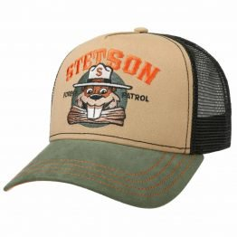 """captain beaver"" truckerpet stetson"