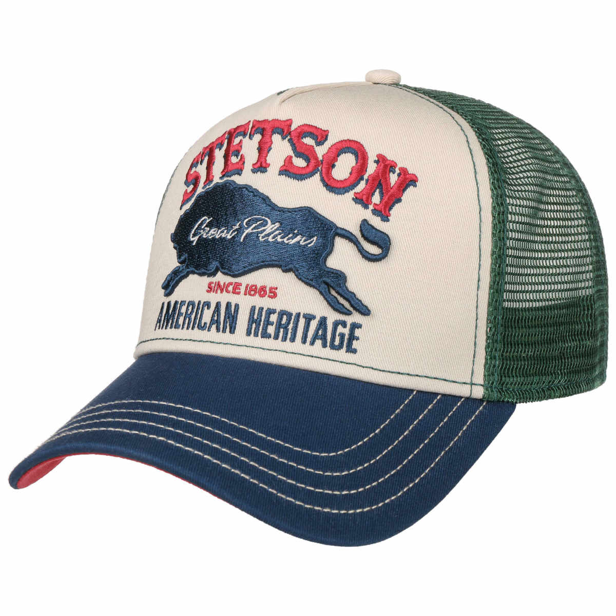 bizon trucker pet stetson