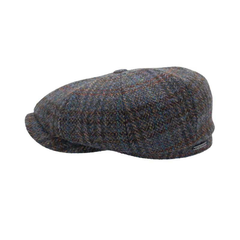newspaperboycap_harris_tweed_Stetson_harbor_of_men_side_shot