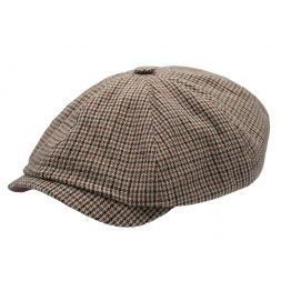 Newspaperboycap_met_engelse_patroon_tilted