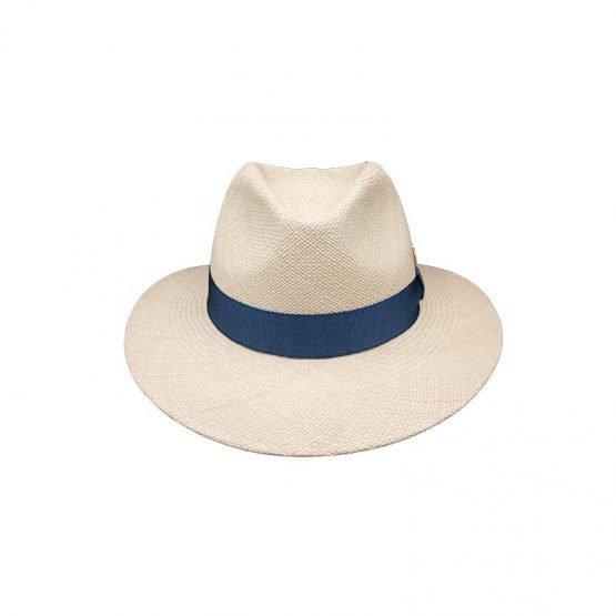 Panamahoe_ met_blauwe_hoofdband_voorkant